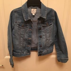 Girls jean jacket